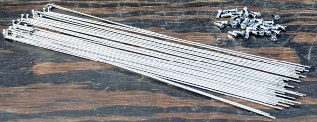WHEEL MASTER Black Stainless Steel Spokes  2 264mm Black