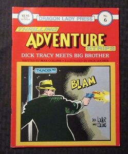 1986 THRILLING ADVENTURE STRIPS #6 FN+ 6.5 Dick Tracy - Dragon Lady Press