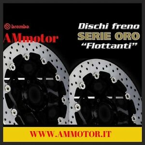 Motorrad-Bremsscheiben-BREMBO-ORO-BRAKE-DUCATI-998-999-03-2007-FRONT-DISCS