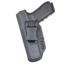 Badger State Holsters- Glock 17/22 IWB Black Custom Kydex Holster Left Draw