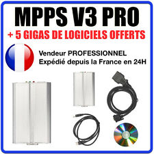 MPPS SMPS v16 - Reprogrammation ecu cartographie moteur antidémarrage FAP EGR
