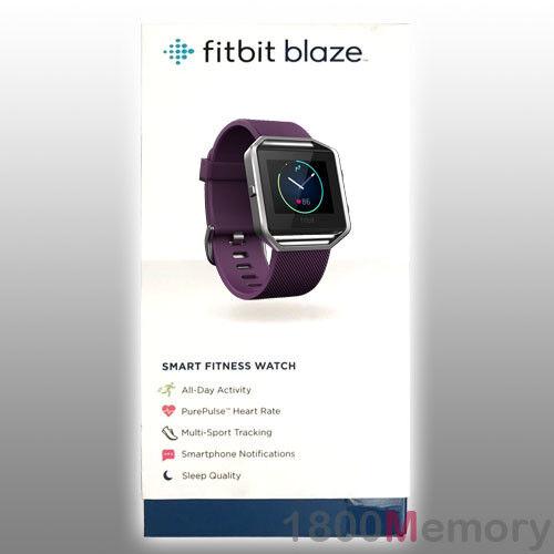 Original Fitbit Blaze Smart Smart Smart Fitness Reloj Wireless azultooth Gps actividad Tracker ad9ec7