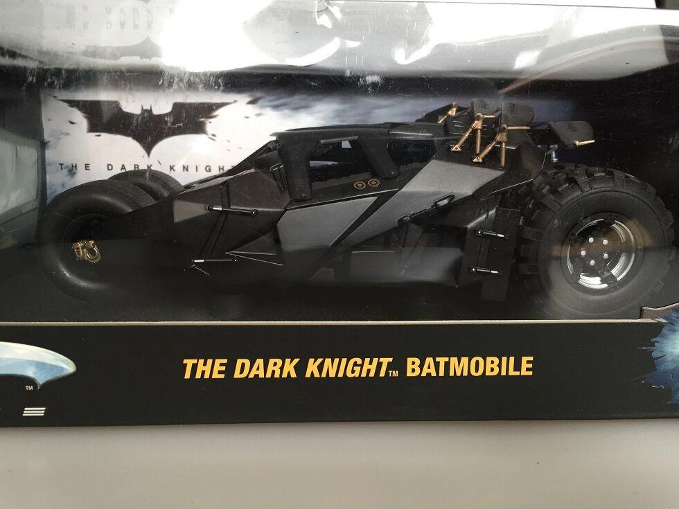1 18 Hot Wheels Elite The Dark Knight Batmobile  RAR