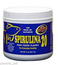 Zoo Med Spirulina 20 Flake Food 2oz