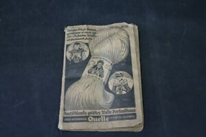 Old-Quelle-Catalog-Shipping-Furth-Bavaria-Hand-Knotted-29-Ducats-Wool