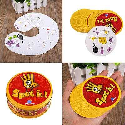 For Spot It Find It Board Funny Card Game For Children Family Gathering Party