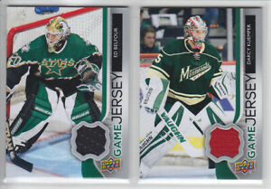 2014-15-UD-SERIES-DARCY-KUEMPER-GAME-JERSEY-GJ-DK-GAME-USED-Upper-Deck-Wild