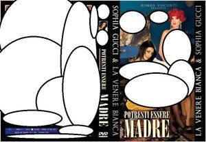 """DVD SEALED""""POTRESTI ESSERE MIA MADRE""""SOPHIA GUCCI-LA VENERE BIANCA-120 MIN.ITAL. - Italia - DVD SEALED""""POTRESTI ESSERE MIA MADRE""""SOPHIA GUCCI-LA VENERE BIANCA-120 MIN.ITAL. - Italia"""