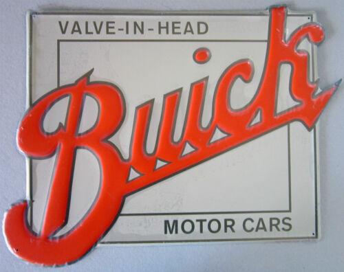 embossed metal sign Buick Valve-In-Head