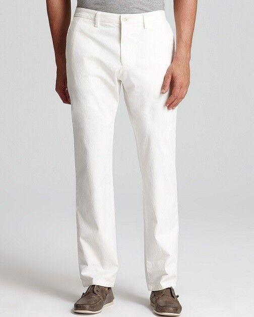 Claiborne Pants Straight leg Flat Front solid Cement Men's size 38x32 NEW
