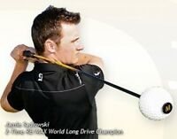 Authentic Mens Momentus Whoosh Golf Swing Trainer + Bonus