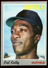 Baseball Card 1970 Topps # 57 Pat Kelly Kansas City Royals EXMT