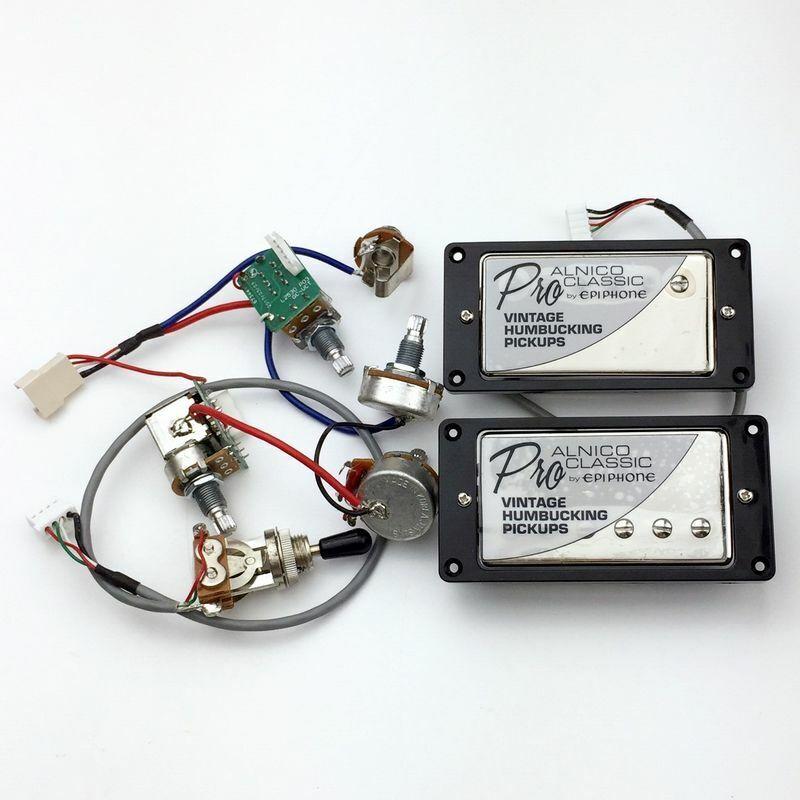 1 Set Cromo proclassic alnicoguitar pickups con conmutadores conmutadores conmutadores ollas Arnés de cableado  precios ultra bajos