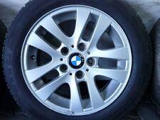 WINTERREIFEN ALUFELGEN ORIGINAL BMW 3er E90 E91 E92 E93 205/55 R16 DOT15 8mm NEU