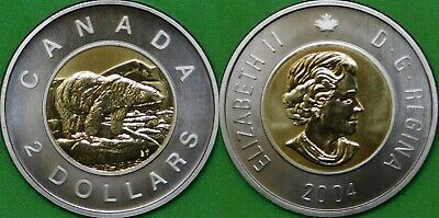 2007 Canada Toonie Graded as Proof Like From Original Set
