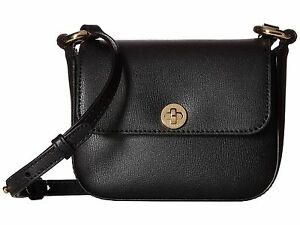 nwt michael michael kors rivington black leather small flap cross rh ebay com