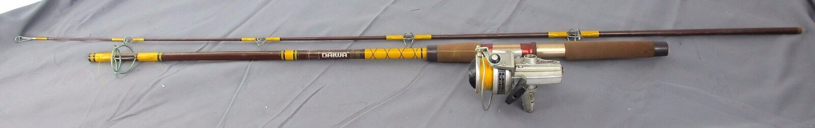 Daiwa 1500C Hi-Speed Spinning Reel Gear Ratio 1 3.7 &  6'6  2pc Fishing Rod Combo  fashionable
