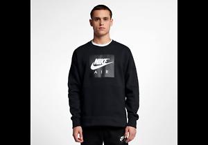 e27a331ce4b201 Nike MEN S Sportswear Crew SIZE MEDIUM BRAND NEW Black White NSW ...