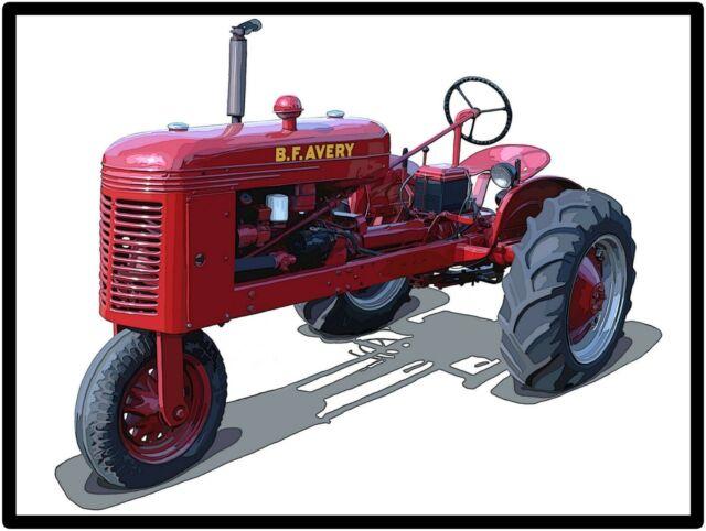 BF Avery V tractor Jayhawk Hay Stacker Aeromotor Sandusky Model J