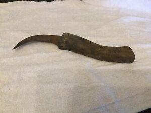 Antique Rusty Farm Tool