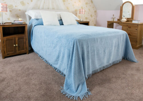 Candlewick Bedspread 100/% Cotton Single,Double,King Clearance Bargain