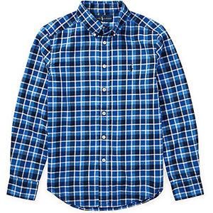 3e2741bf4 Polo Ralph Lauren Boys' 2T-20 Long Sleeve Plaid Twill Button Down ...