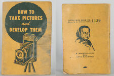 PHOTOGRAPHY SELF TAUGHT HOW TO TAKE PICTURES AND DEVELOP THEM BOOKLET