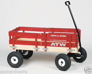 All Terrain Cargo Wagon Rubber Tires