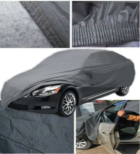 Luxury Heavy Duty Thick Waterproof Outdoor Full Quality Car Cover 2 Layer Size M