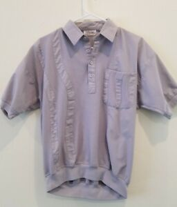 VERY-NICE-Vintage-Alexxus-Exclusive-shirt-Grey-size-Medium