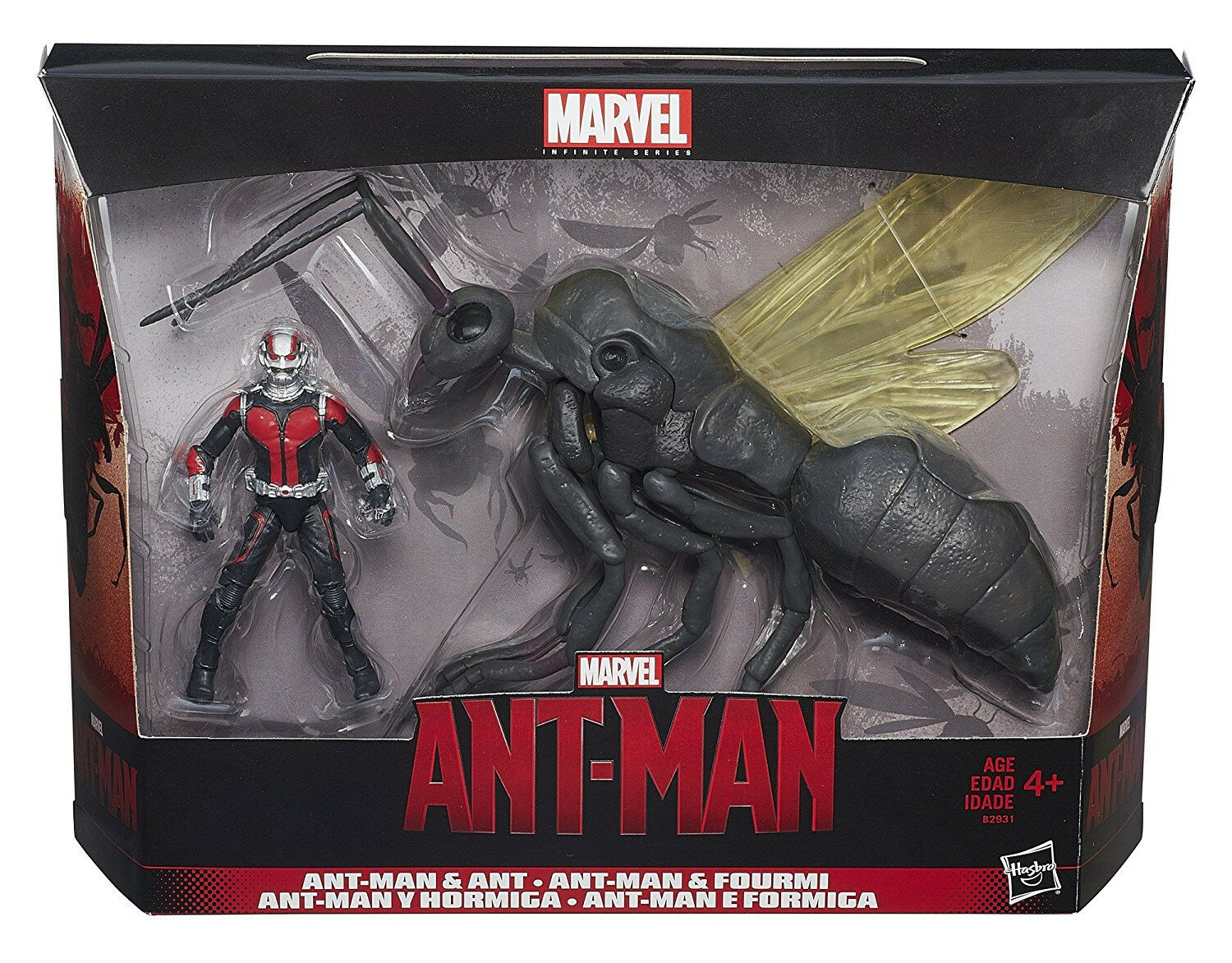 Marvel Marvel Marvel Infinite Series Ant-Man 3.75 Inch Figure with Flying Ant 5d105d