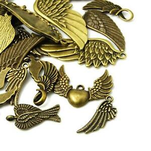 Wing Charm/Pendant Tibetan Antique Bronze 5-40mm  30 Grams Accessory Jewellery 5055711136079