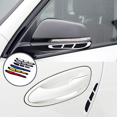 Car Bumper Corner Rubber Guard Anti-Scratch Protector Strip Edge Sticker Black