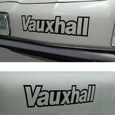 Vauxhall Chevette HS HSR Sticker Decal cut black vinyl letters Dealer Sport DTV