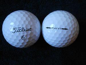 10-TITLEIST-034-PRO-V1-034-Golf-Balls-034-PEARL-A-034-Grades-034-NO-392-MODEL-034