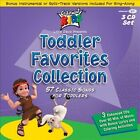 Toddler Favorites Collection [Box] by Cedarmont Kids (CD, Oct-2011, 3 Discs, Cedarmont Kids)