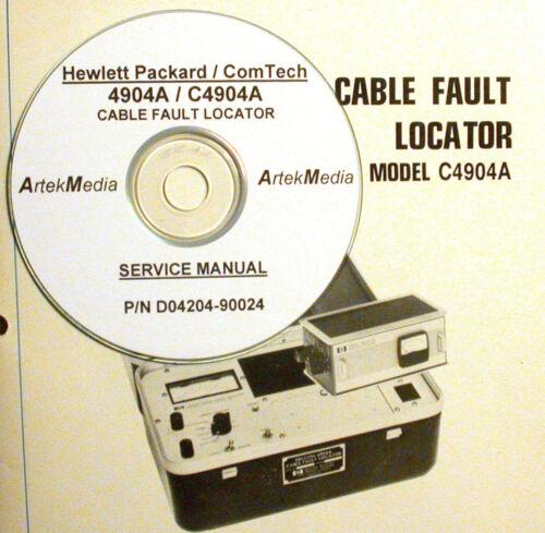 Test, Measurement & Inspection COM-TECH 4904A HP C4904A SERVICE ...
