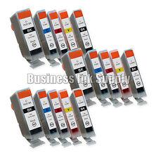 15 New Ink Cartridges For Canon CLI8 PGI5 Pixma MP530