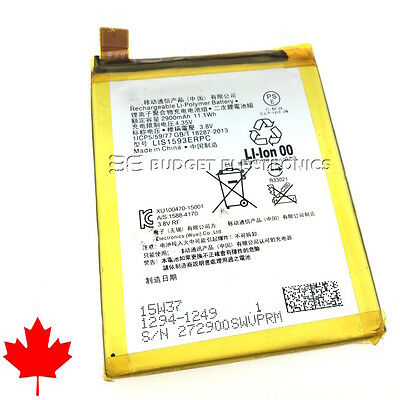 NEW Sony Xperia Z5 Replacement Battery 2900mAh  LIS1593ERPC