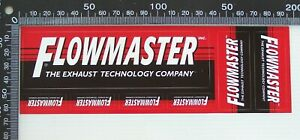 GENUINE-FLOWMASTER-EXHAUST-TECHNOLOGY-RACING-SPONSOR-USA-CAR-STICKER-DECAL