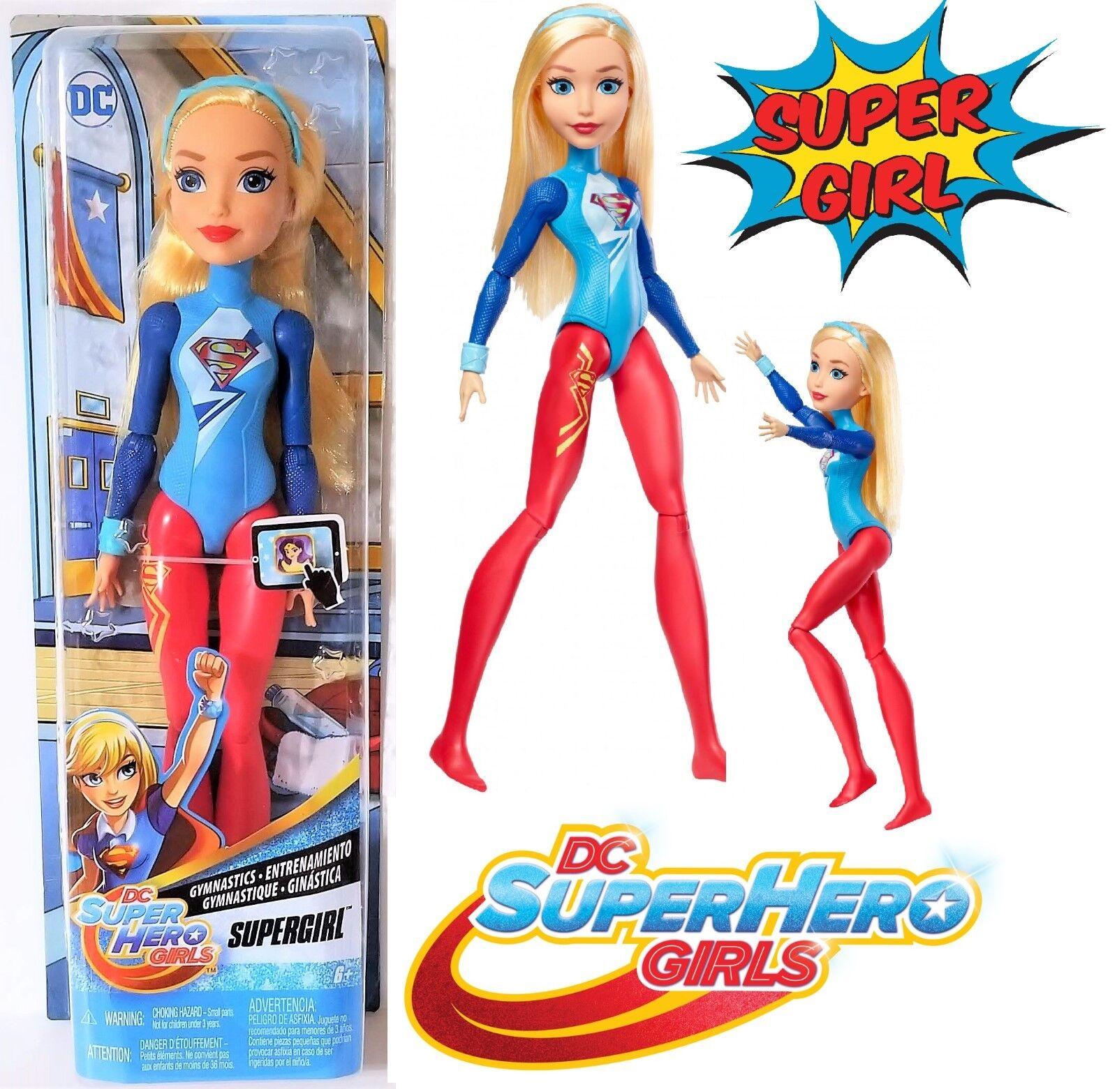 DC DC DC Super Hero Girls Supergirl 12  Gymnastics Action Doll 3020c8