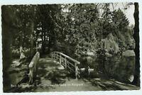 Alte Ansichtskarte Postkarte Bad Schwalbach Schwanenteichbrücke 1964