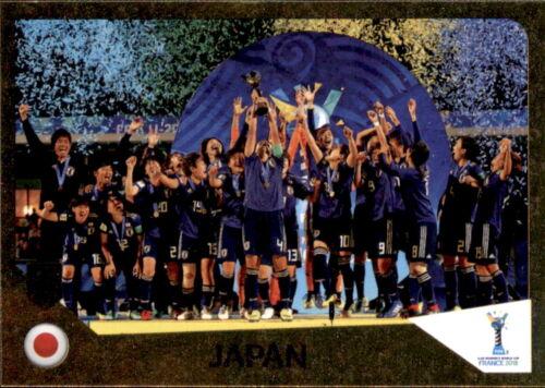Winner Japan Sticker 446 Panini FIFA365 2019 U-20 Women/'s world cup