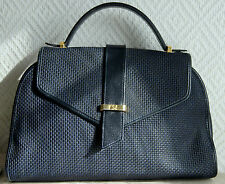 sac à main petit cabas YVES SANT LAURENT en simili cuir et cuir VINTAGE