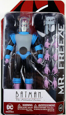 Batman Animated In Hand Mint DC Collectibles Mister Freeze