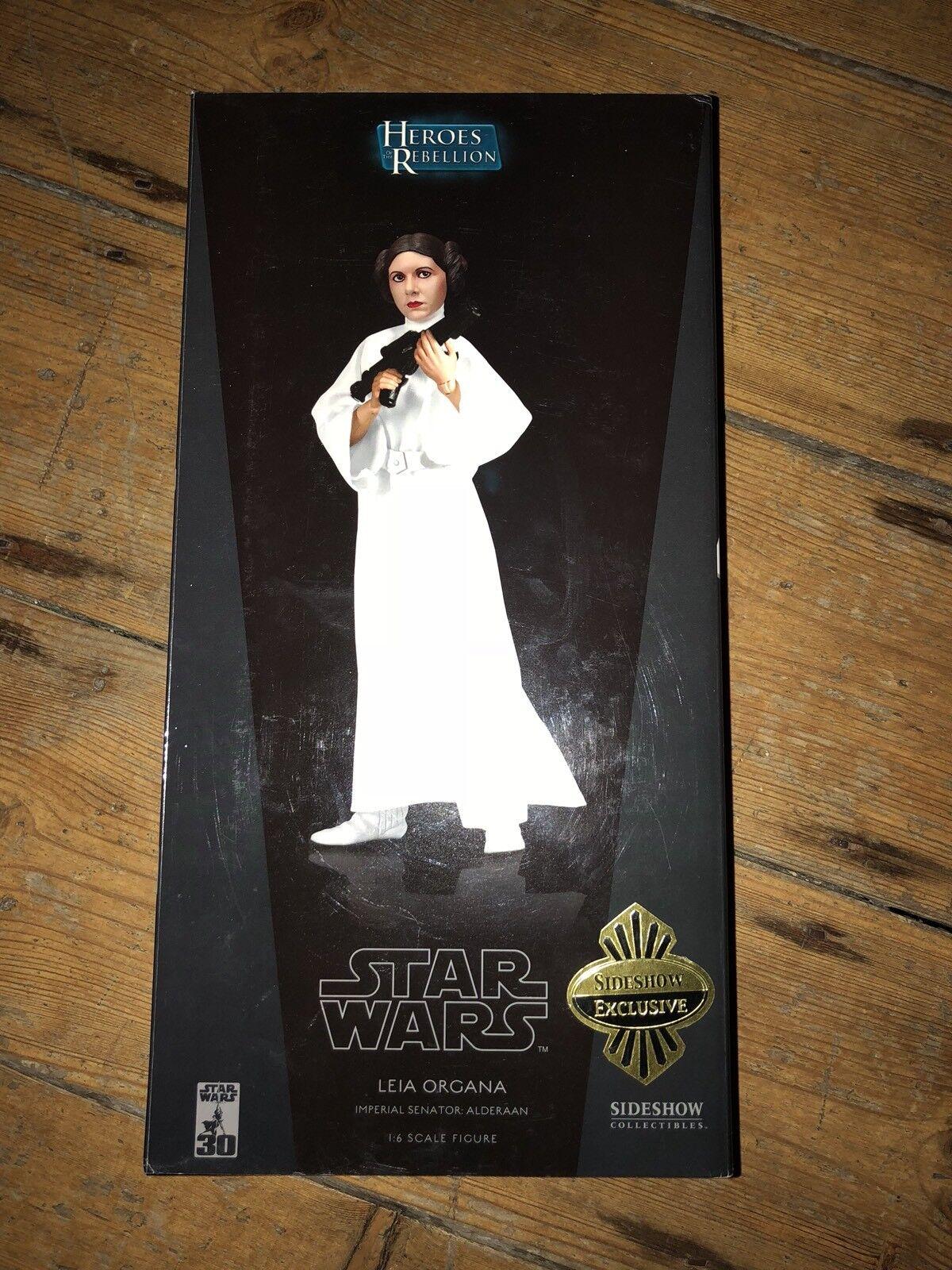 Sideshow Star Wars Héroes de la rebelión Leila Organa exclusivo Imperial 274