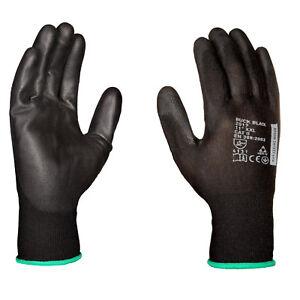 Handschuhe Persönliche Schutzausrüstung Erfinderisch 12 Bis 480 Paar Pu Montagehandschuhe Arbeitshandschuhe Mechanikerhandschuhe