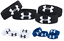"Under Armour UA 1/"" Performance bracelets 4-Pack 1235106"