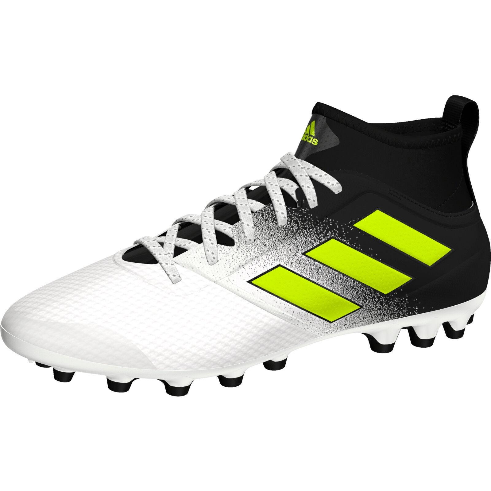 Adidas ACE 17.3 AG S77062 sautopa CALCIO CALCETTO Col. Bianco\Nero nuovo
