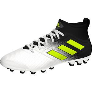 Dettagli su Adidas ACE 17.3 AG S77062 scarpa CALCIOCALCETTO Col. BiancoNero NEW